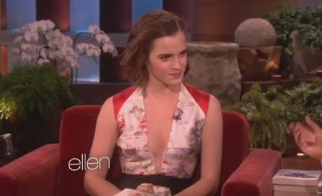 Emma Watson Compares British Men to Americans