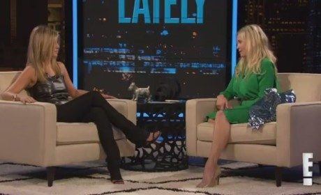 Jennifer Aniston on Chelsea Lately