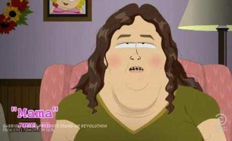 South Park Clip: Parody of Honey Boo Boo