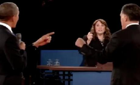 Candy Crowley Debate Highlights