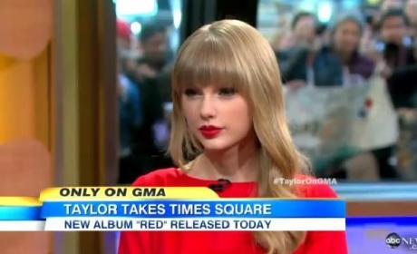 Taylor Swift GMA Interview