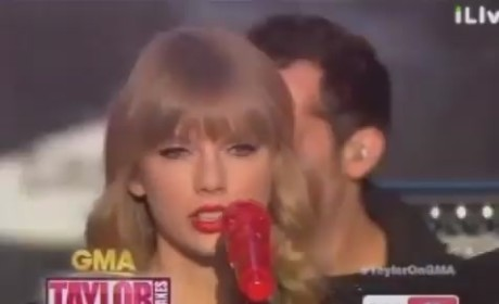 Taylor Swift Pulls Double Song Duty on Good Morning America