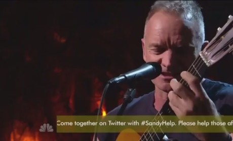 "Sting - ""Message in a Bottle"""