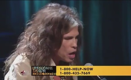 "Aerosmith - ""Dream On"" (Hurricane Sandy Telethon)"