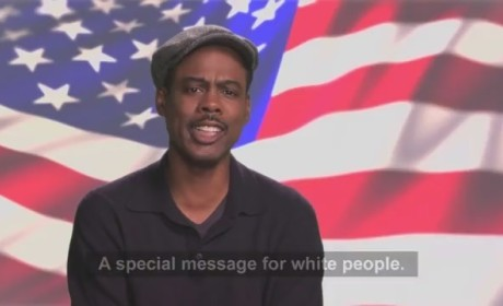 "Chris Rock: Vote for ""White"" Barack Obama!"