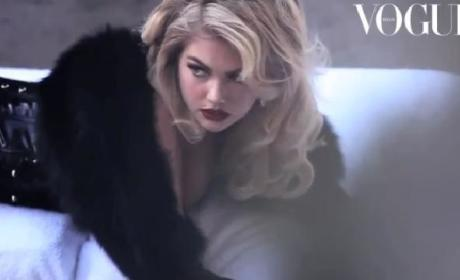 Kate Upton in Vogue Italia
