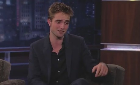 Robert Pattinson on Jimmy Kimmel (Part 2)