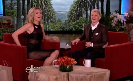 Heidi Klum Ellen Appearance