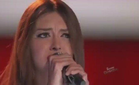 Devyn DeLoera - Bleeding Love (The Voice)