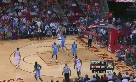 Kenneth Faried Alley-Oop