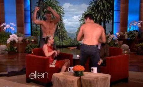 Miley Cyrus Bachelorette Party on Ellen