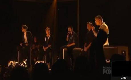 One Direction Performs on The X Factor Results Show