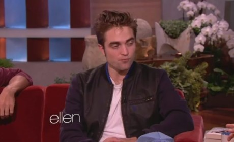 Robert Pattinson Ellen Interview
