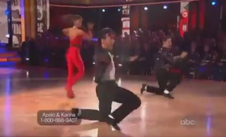 Apolo Anton Ohno - Dancing With the Stars Week 7 (Trio)