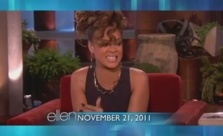 "Rihanna on Ellen - ""Her"""