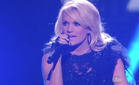 "Carrie Underwood AMA Performance: ""Two Black Cadillacs,"" One Major Honor"