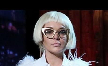 Lindsay Lohan on Late Night: Weirdest Cameo Ever!