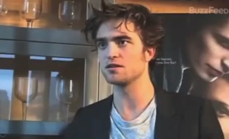 Robert Pattinson Hates on The Twilight Saga, Edward Cullen