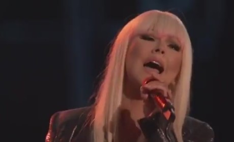 Christina Aguilera and Blake Shelton - Just a Fool (The Voice)