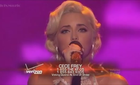 "CeCe Frey - ""Wind Beneath My Wings"""