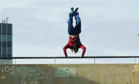 Peter Parkour: London's Real-Life Spider-Man!
