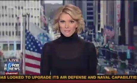 Megyn Kelly Freaked Out By Fox News Animated Alert Graphic