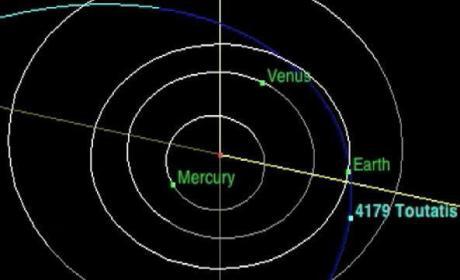 Asteroid 4179 Toutatis Heading For Earth!