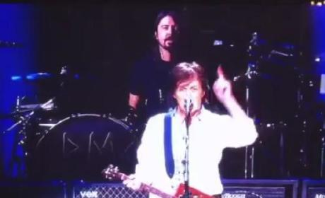 Nirvana Reunion-Paul McCartney 12/12/12 Performance