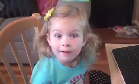 Cute Kids React to Stuff