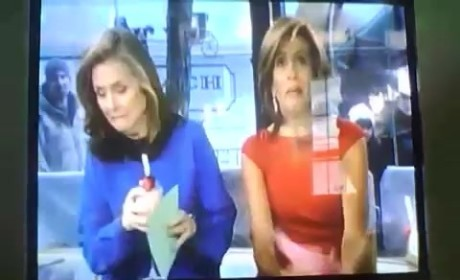 Meredith Vieira Curses on Today Show