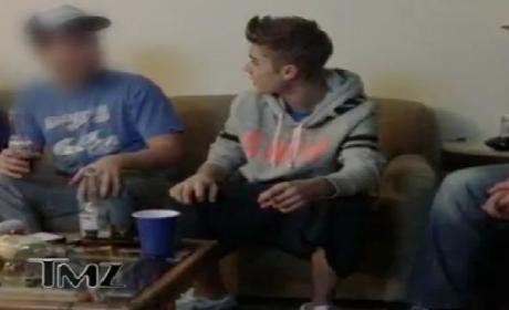 Justin Bieber Smoking Weed