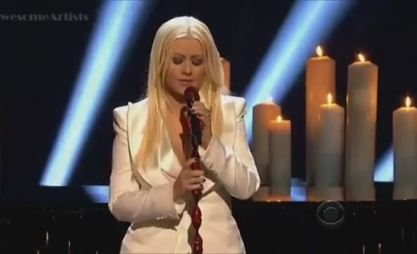 Christina Aguilera - Blank Page (People's Choice Awards)
