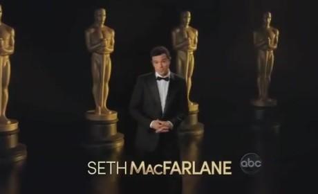 Seth MacFarlane Oscars Promo: Really Daniel Day-Lewis?