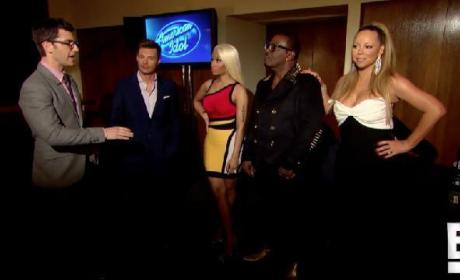 American Idol Judges Interview