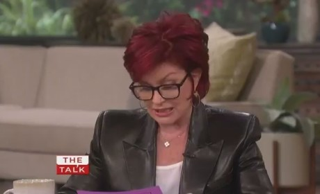 Sharon Osbourne Slams Lady Gaga (The Talk)