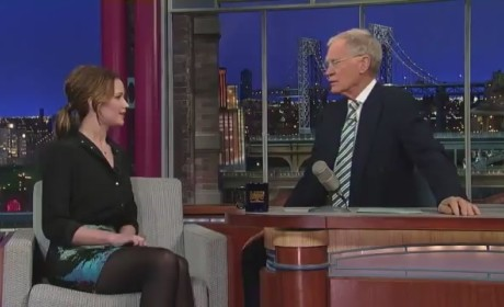 Jennifer Lawrence on The Late Show - LIES!