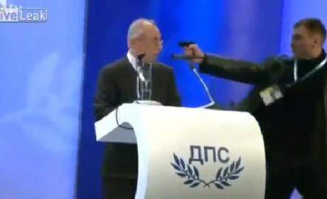 Failed Assassination Attempt Caught on Video in Bulgaria