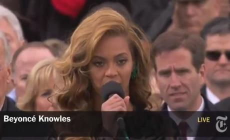 Beyonce - Inauguration National Anthem