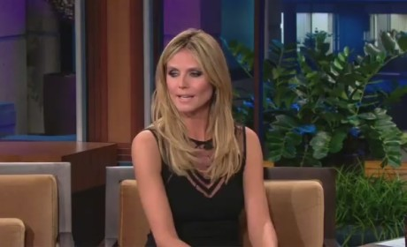 Heidi Klum Dances on The Tonight Show