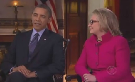 Obama-Hillary Clinton 60 Minutes Interview (Part 1)