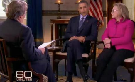 Obama-Hillary Clinton 60 Minutes Interview (Part 2)