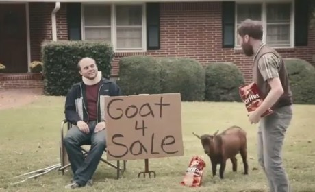 Doritos Super Bowl Ad 2013 - Goat 4 Sale