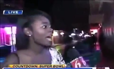 Jessica Sanchez BURNS Drunken Bourban Street Reveler