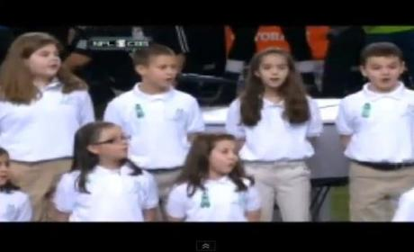 "Sandy Hook Chorus, Jennifer Hudson Sing ""America the Beautiful"" [VIDEO]"