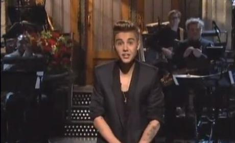 Justin Bieber Saturday Night Live Monologue