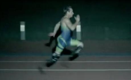 """Oscar Pistorius Nike """"Weapon"""" Ad"""