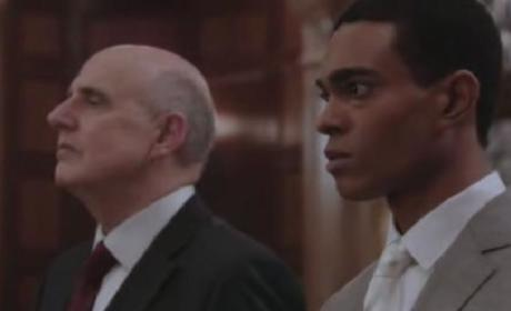 Law & Order SVU Clip: Rihanna and Chris Brown?