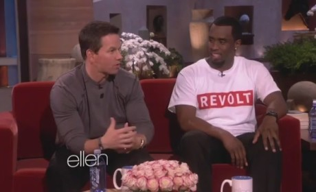 Diddy on Ellen