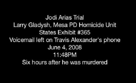 Jodi Arias Voicemail
