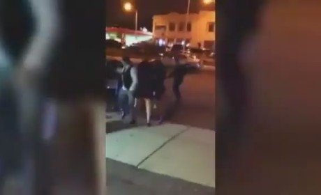 Cop Punches Woman